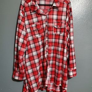 French Laundry size 3x flannel